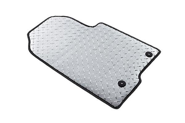 Intro Tech Automotive Diamond Plate Auto Mat Floor Mats