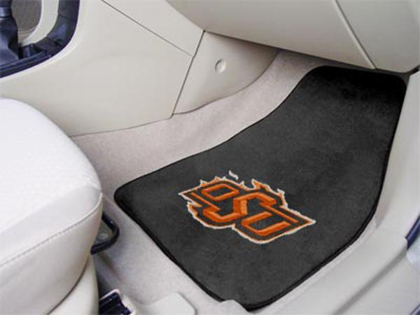 Fanmats 5999 fanmats ncaa logo carpet floor mats free for Parquet mat ou satine