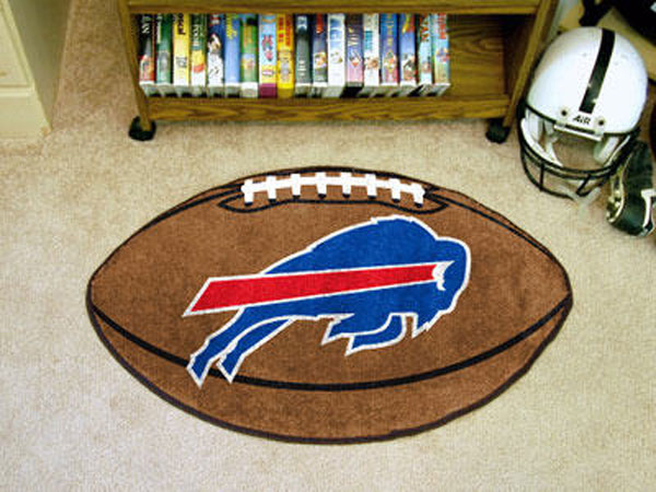 Buffalo Bills Football Rug