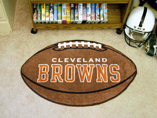 Cleveland Browns Football Rug