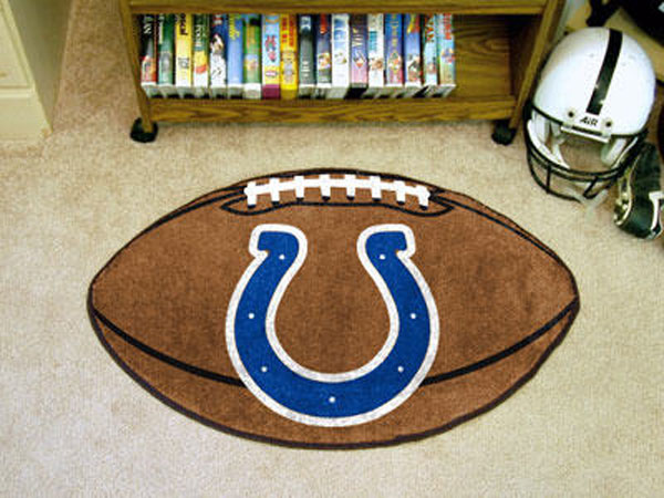 Indianapolis Colts Football Rug