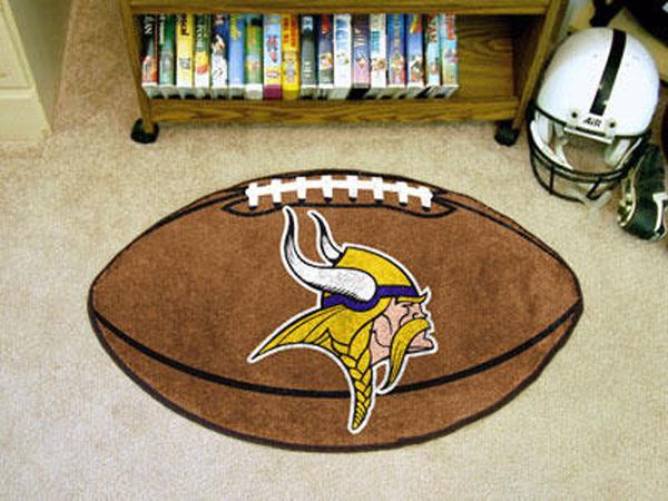 Minnesota Vikings Football Rug