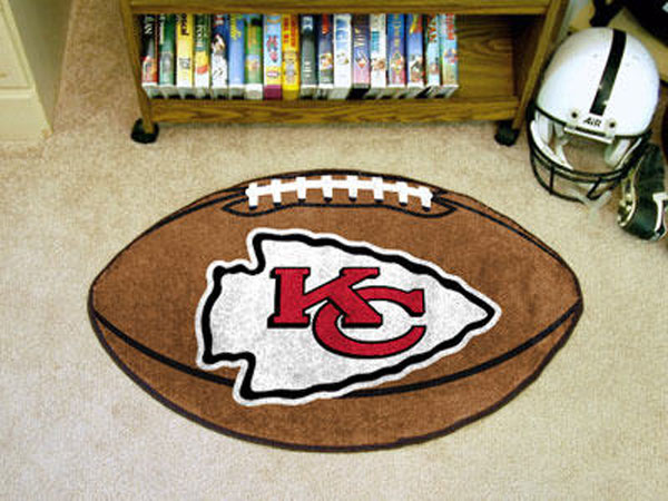 Kansas City Chiefs Football Rug