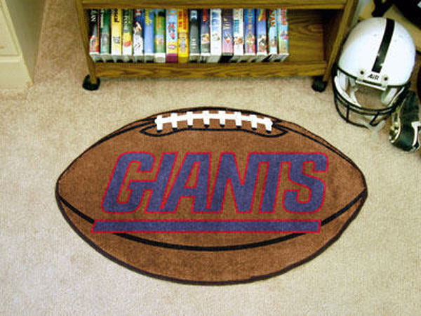 New York Giants Football Rug