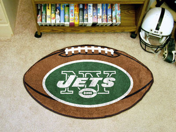 New York Jets Football Rug