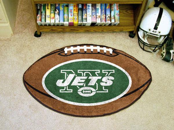New York Jets Football Rug