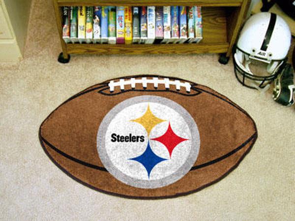 Pittsburgh Steelers Football Rug