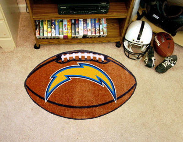 San Diego Chargers Football Rug