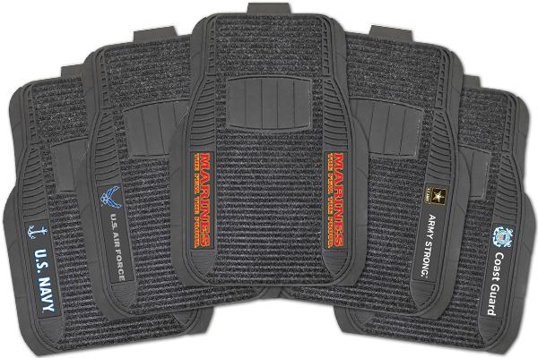 fanmats military deluxe floor mats