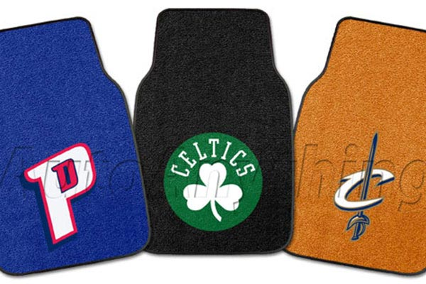 fanmats nba logo carpet floor mats 4247