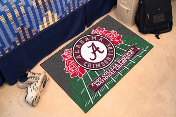 fanmats ncaa starter rugs