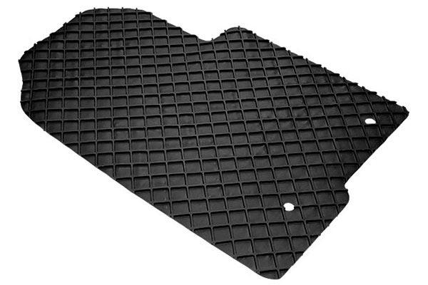 FIAT 500 08-12 4 PIECE BLACK CAR FLOOR MAT SET