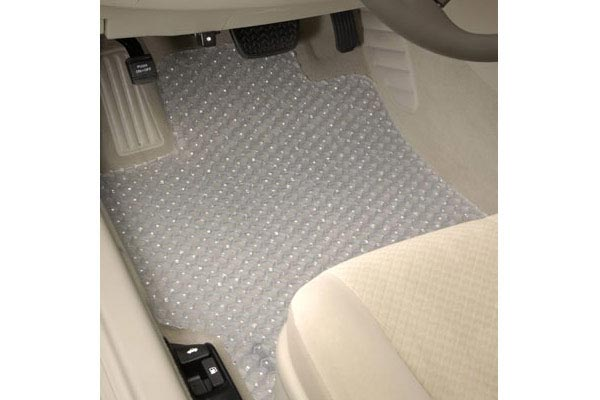 intro tech automotive clear hexomat floor mats