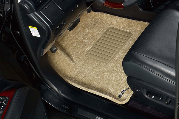 2011 Toyota Yaris 3D Maxpider Classic Carpet Floor Mats L1TY02402202 Front and 2nd Row Floor Mats