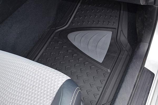 motor trend heavy duty rubber floor mats