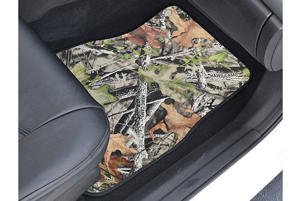 proz timber camo microfiber floor mats - camouflage car mats