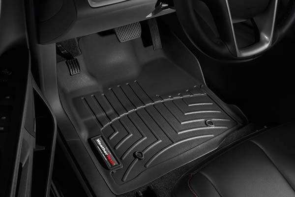 weathertech black front floor liner