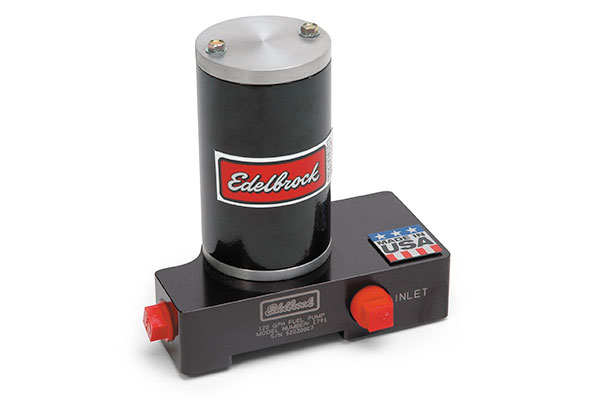 edelbrock quiet flo electric fuel pumps   carbureted engines