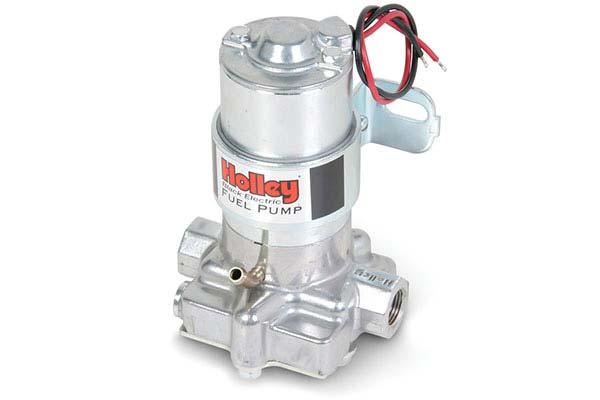 holley black electric fuel pump hero