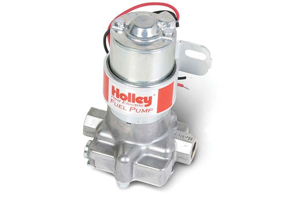 holley red electric fuel pump hero