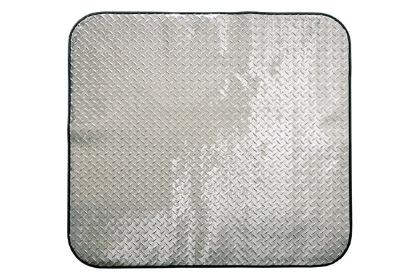 Intro Tech PitStop Diamond Plate Chair Mat