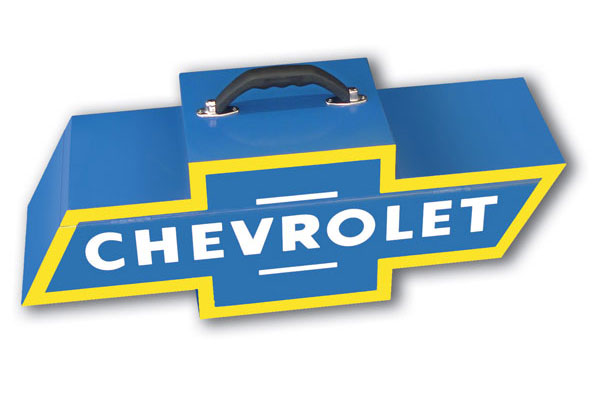go boxes portable chevy toolbox new