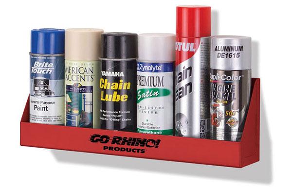 go rhino aerosol can rack