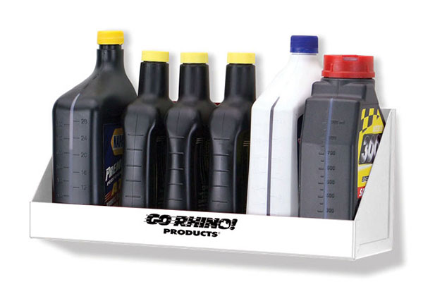 go rhino oil bottle shelf
