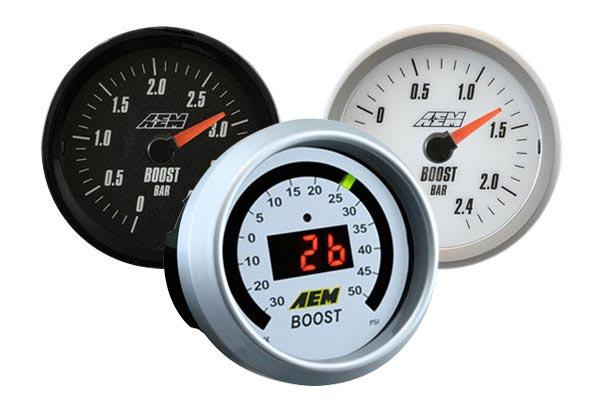 aem boost gauge