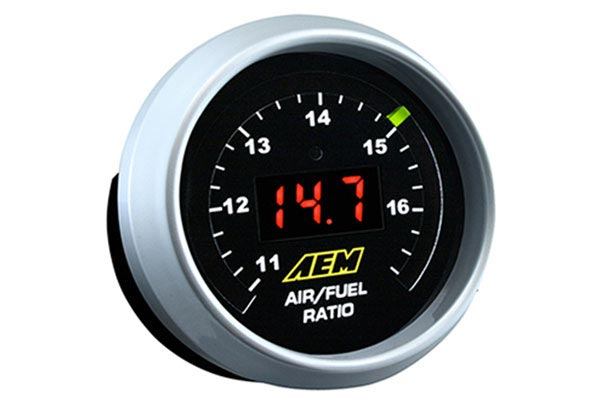 aem widewand uego air fuel ratio gauge new
