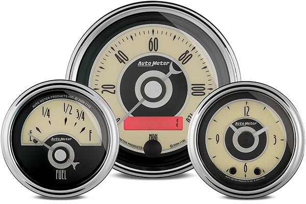 autometer cruiser gauges