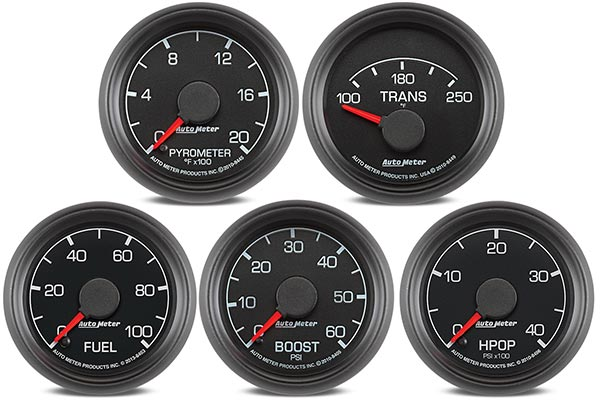 autometer ford factory match gauges