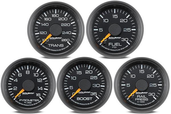 autometer gm factory match gauges