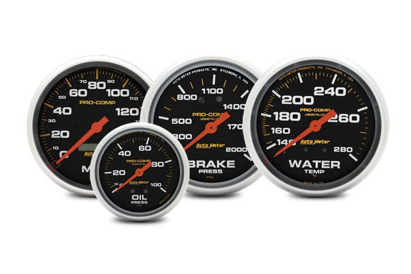 autometer pro comp gauges