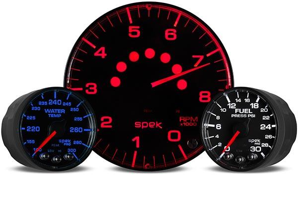 autometer spek pro gauges