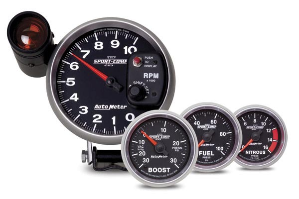 autometer sport comp II gauges