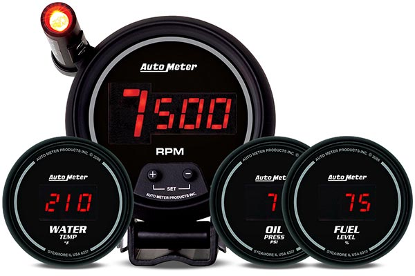 autometer sport comp digital gauges