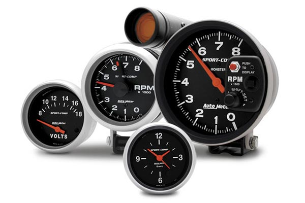autometer sport comp gauges