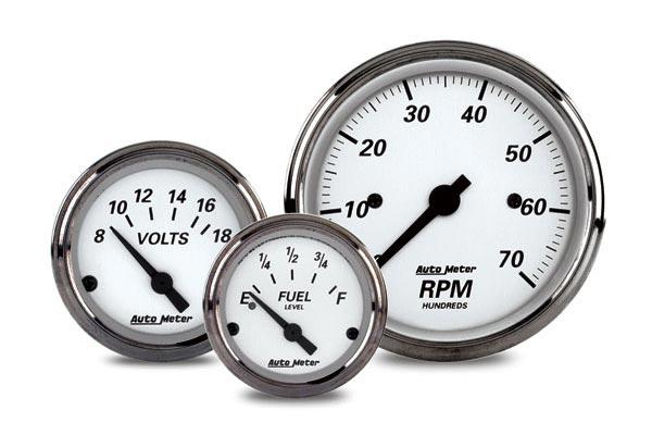 autometer street rod american platinum gauges