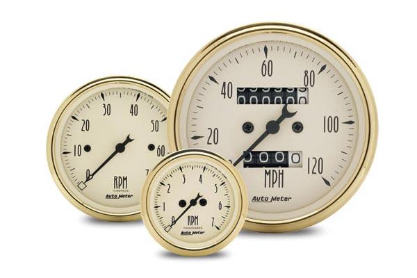 autometer street rod golden oldies gauges