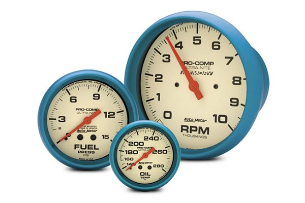 autometer ultra nite gauges