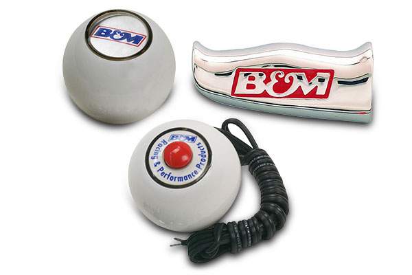 b and m shifter knob