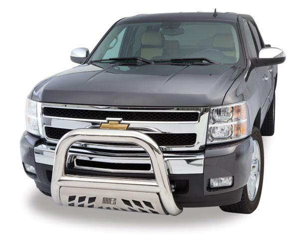 2010 Chevy Colorado Aries Off Road Bull Bar with Skid Plate B35-4004 3