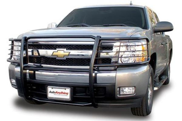 aries off road grille guard black