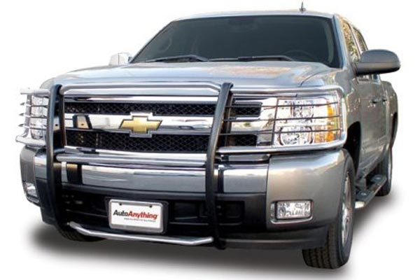 aries off road grille guard brushed