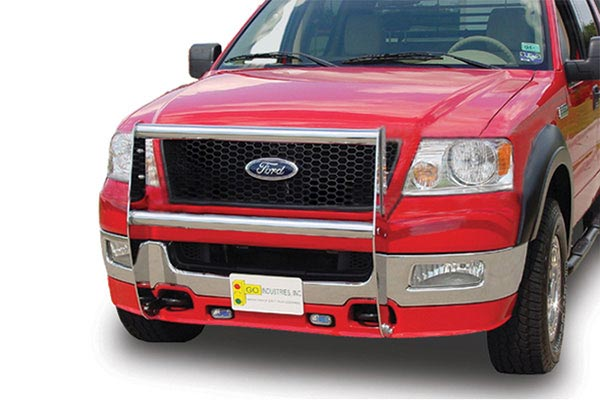 go industires knockdown grille guard  no brush