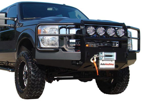 go industries pro series winch front bumper