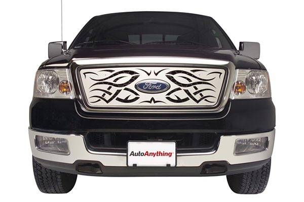 putco tribe grille stainless steel ford
