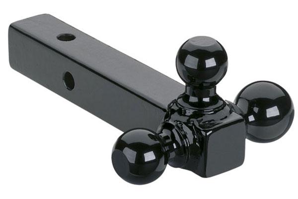 curt  multi ball mount black