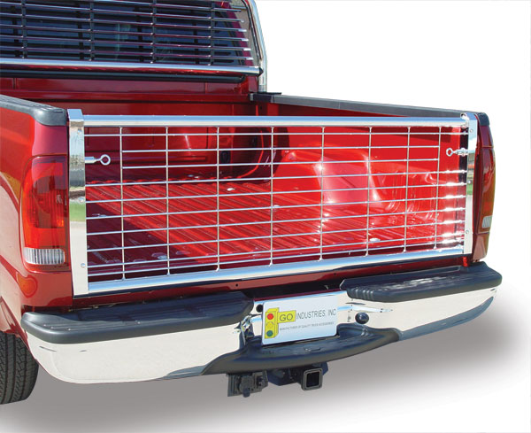 1988-2000 Chevy C/K 3500 Go Industries Air Flow Tailgate - Chrome Straight Gate 2380-115-2699-1988